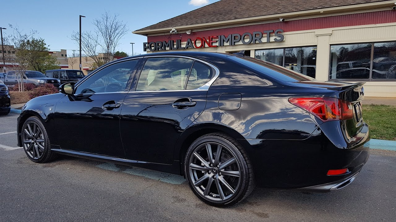 2014 Lexus GS 350 F Sport Black   For Sale   Formula One Imports Chrlotte