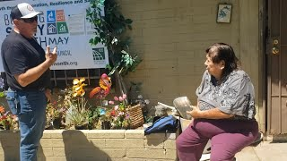 Community donates to help rebuild woman's Phoenix home