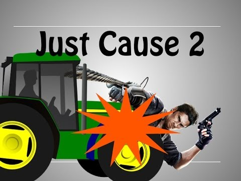 Just Cause 2 Multiplayer - WRATH OF THE TRACTORS!
