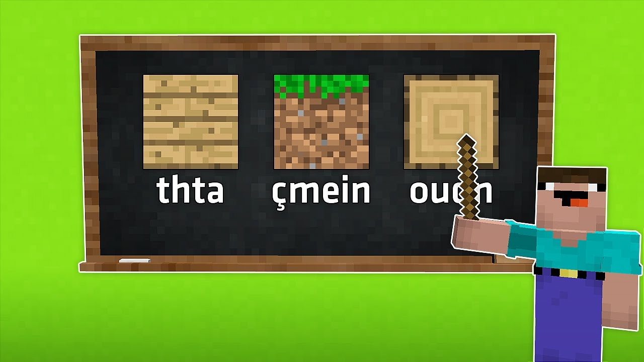 NOOB TÜRKÇESİ ÖĞRENİYORUZ! 🗣️ - Minecraft