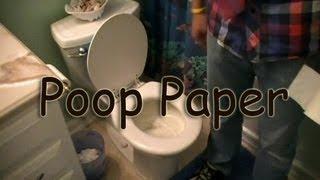 Poop-Paper - Flake and Flosh