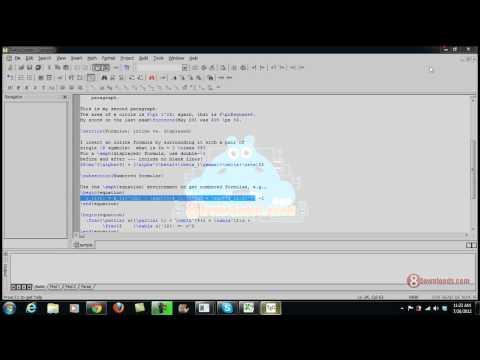 Download Free Latex Editor