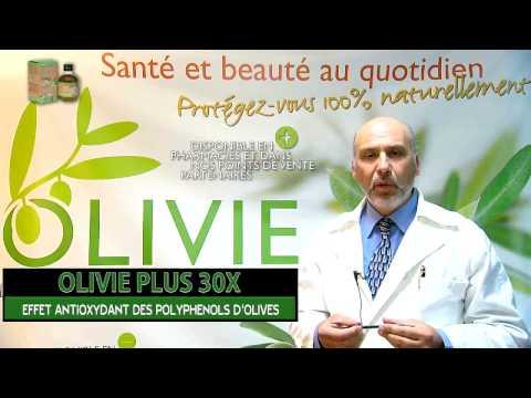 OLIVIE PLUS 30X ! Effet antioxydant des polyphénols de l'huile d'olive