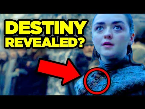 "GAME OF THRONES Season  Teaser - ARYA'S DESTINY REVEALED?  (""It All Starts Here"")"