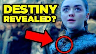 GAME OF THRONES Season 8 Teaser - ARYA'S DESTINY REVEALED?  (
