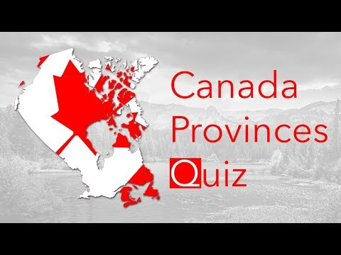 Canada Provinces Quiz
