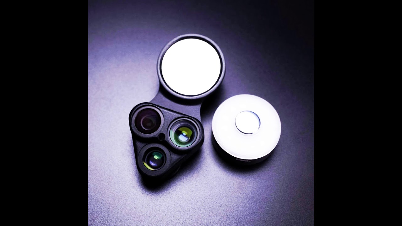 new product f75ab dd58c AINOPE iPhone X Lens and RevolCam 3-in-1 Lens