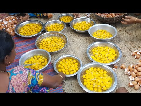 450 Fried Eggs Curry Cooking | Very Tasty & Delicious Eggs Curry Prepared To Serve Kids & Villagers