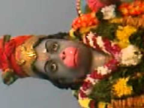 Hanuman opens and close his mouth at Gula Estate, Perak