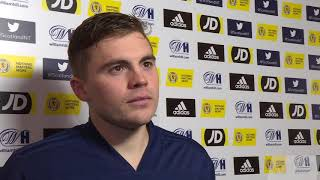 REACTION | James Forrest | Scotland 3-2 Israel