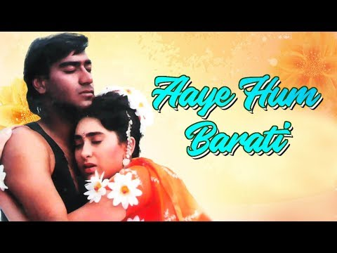 Best Of 90's Song  Aaye Hum Barati Baraat Leke  Jigar Song  Ajay Devgn Karisma Kapoor Kumar Sanu