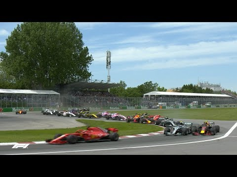 2018 Canadian Grand Prix: Race Highlights