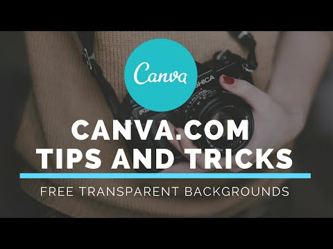 How to Make a Transparent Background on Canva.com for Free