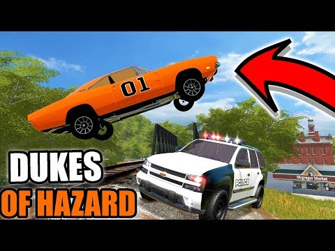 FARMING SIMULATOR 2017 | GENERAL LEE RUNNING FROM THE COPS | MULTIPLAYER | COPS & ROBBERS