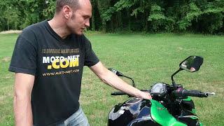 Duel Z900 Vs Street Triple S : instrumentation et moteur de la Kawasaki
