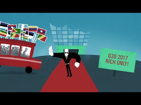 G20 summit: profits and protest