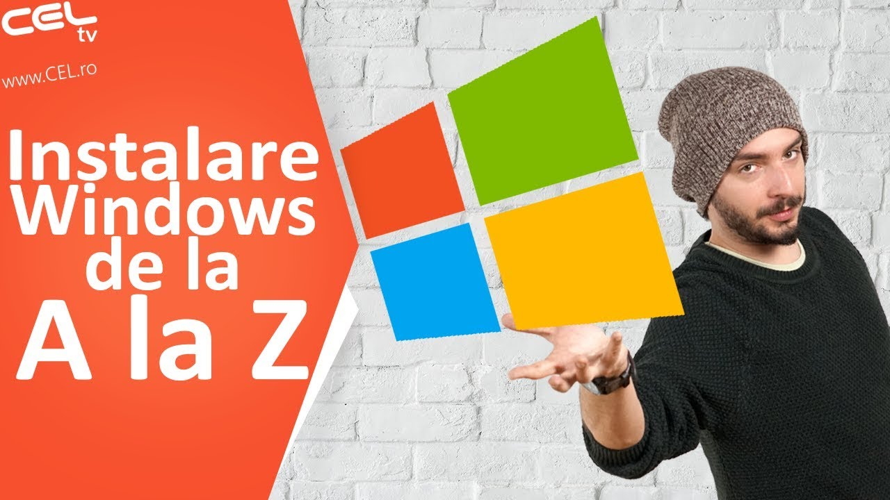 Cum sa instalezi Windows 10 PAS cu PAS | Tutorial CEL.ro