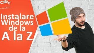 cum sa instalezi windows pas cu pas tutorial celro
