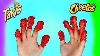 100+ Layers of Hot Cheeto and Takis Powder!!