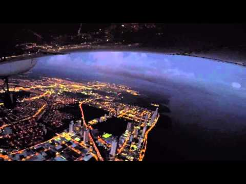 Night flying over Panama City, Panama (MPMG)