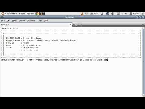 Python SQL Dumper - How to make a SQL injection in apache mode_rewrite URL