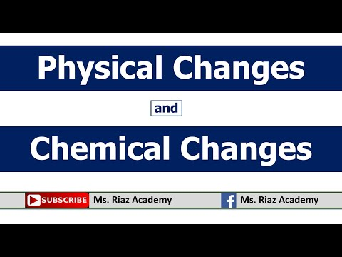 physical-and-chemical-changes- -changes-in-matter- -chemistry