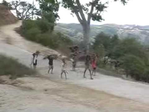 Domingos goes to Lekidoe - East Timor