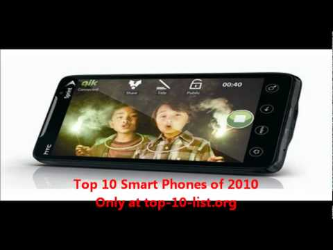 Top 10 Smart Phones of 2010