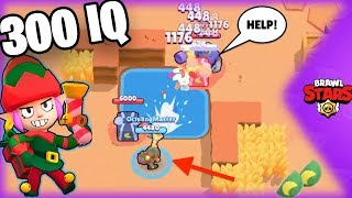 300 IQ Brawl Stars Funny Moments & Fails & Glitches