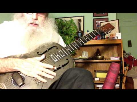 Slide Guitar Blues Lesson You Gotta Move In Open D Tuning. You Gotta Move Is Mississippi Blues!
