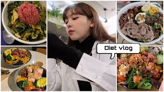 [DIET VLOG]다이어트하면서 외식 왜못해 ?! 샐…