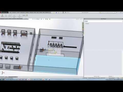 Lino 3D layout - 3D-Anlagenlayout für SolidWorks