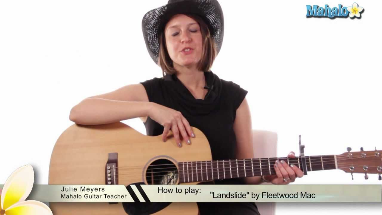 How To Play Landslide By Fleetwood Mac On Guitar Youtube