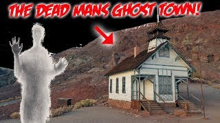 We Explored the Dead Mans HAUNTED GHOST TOWN IN THE MIDDLE OF THE DESERT!