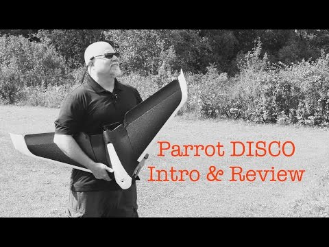 Parrot Disco FPV | FULL REVIEW | Flight Video