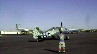 Focke Wulf FW-190A-9 Taxi Test at Chino