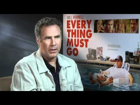 Will Ferrell Everything Must Go interview