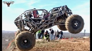 ROCK BOUNCERS CLIMB A MONSTER HILL IN TEXAS