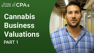 Cannabis Business Valuations – Part 1