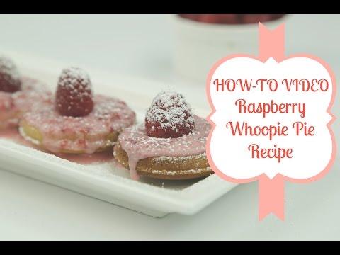 Yummy Raspberry Lemon Whoopie Pie Recipe