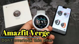Amazfit Verge - A long term review!