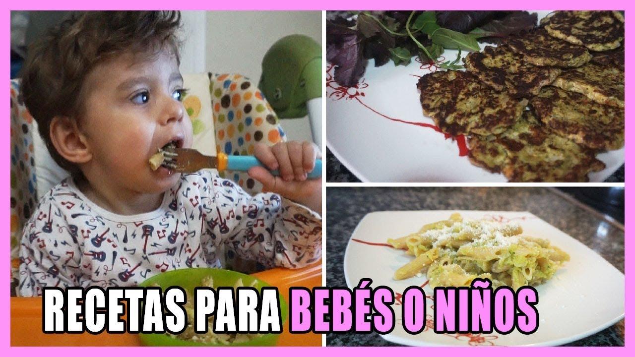 Almuerzos para bebes de 1 ano