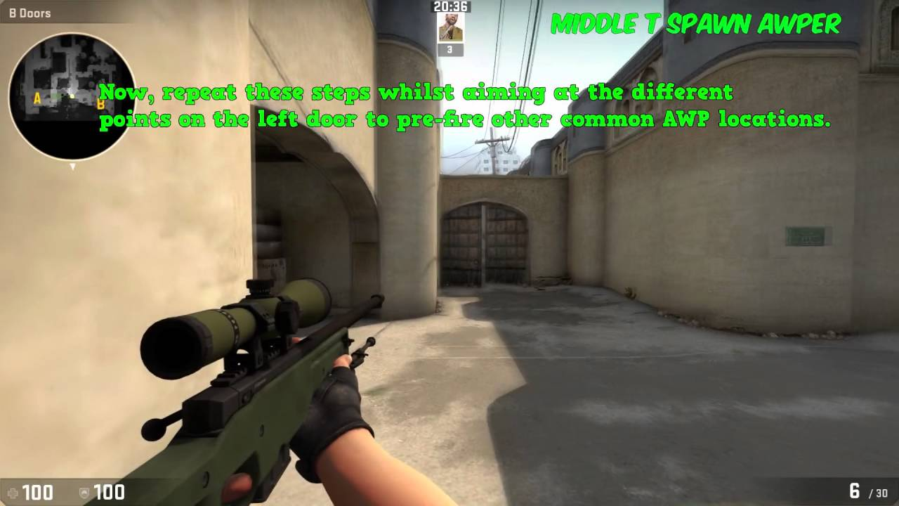 & CS:GO Quick Tips: How to AWP mid on Dust 2 Tutorial! - YouTube