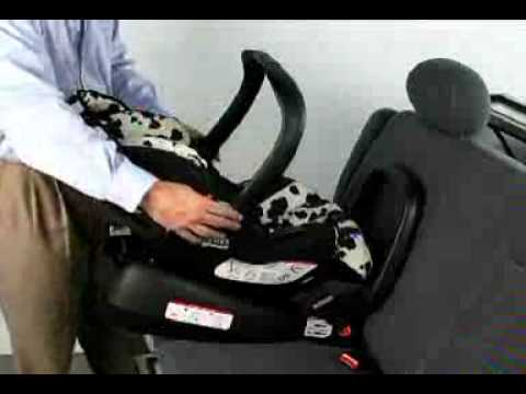Britax Chaperone Infant Carrier Installation Using Latch