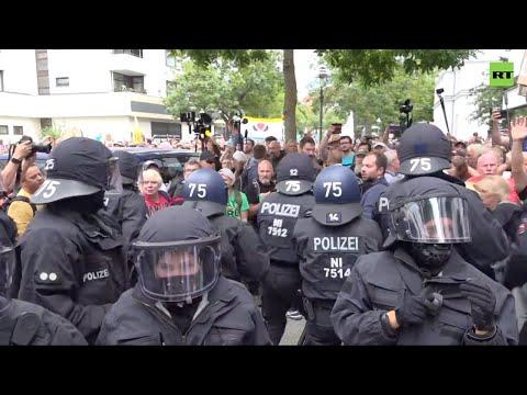 'Suspected bodily harm'   Berlin police under investigation