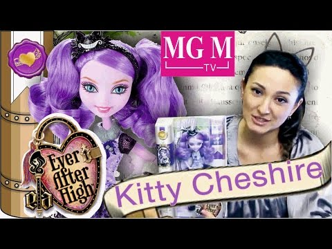 Kitty Cheshire [Китти Чешир] Ever After High Spring unsprung и Toy Fair Way to Wonderland MGM
