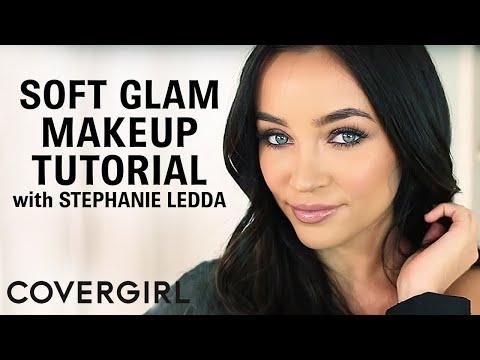 Soft Glam Makeup Tutorial With Stephanie Ledda | COVERGIRL