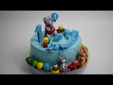 Торт на заказ на 1 годик (Tortlend.ru)