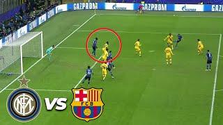 ¡Otro gol anulado! | Inter de Milán 1 - 1 FC Barcelona | Champions League - J6 - Grupo F | TUDN