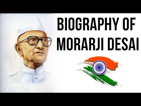 Biography of Morarji Desai, 4th Prime Minister of India, Bharat Ratna & Nishan e Pakistan laureate